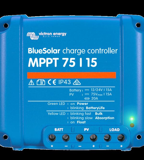 Соларен контролер Victron BlueSolar MPPT 75/15A